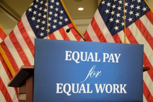 Equal Pay for Equal Work for women